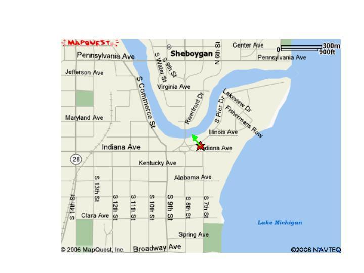 Sheboygan Wisconsin Lake Michigan Fishing Map Information - Lake-michigan-us-map